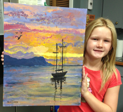 Painting classes for children